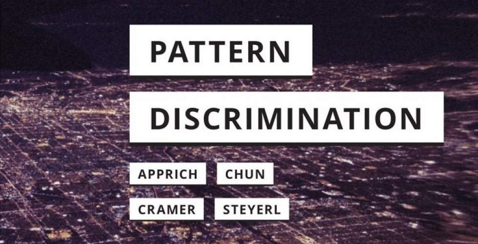 Pattern Discrimination, Book Launch, March 15